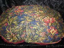 Luxury Designer Cheetah Pattern Unique Oval Dog Pillow STUNNING