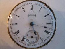 HEAVY c.1900 COLUMBUS WATCH CO POCKET WATCH JEWEL MOVEMENT - NOT WORKING -