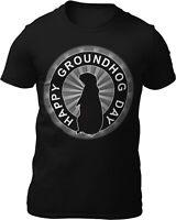 Funny Groundhog Day T-Shirt Animal Lover Gift Men's Women's Tee
