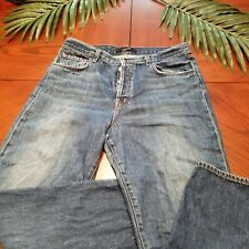 J BRAND Womens Size 29 Ivy High Rise Denim Jeans Straight Entice Blue Button Fly