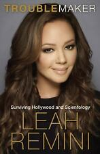 (NEW) Troublemaker by Leah Remini Surviving Hollywood and Scientology Hardcover