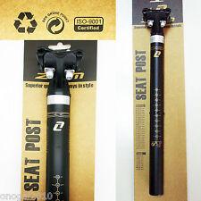 Tija de Bicicleta ZOOM Profesional Aluminio MTB BTT 27.2 350 mm Sillin Rail 3122
