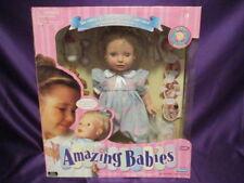 Playmates Amazing Babies Interactive Doll w/Access Smart Response System NEW '00
