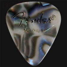 Fender Abalone Medium Guitar Picks / Plectrums  - Choice Of Quantities
