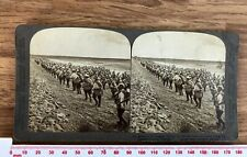 More details for russian troop advance chinese imperial railway antique 1904 underwood stereoview