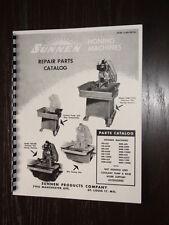 Sunnen Hone MBB-625 MBB-650 MBB-1290 Parts Manual