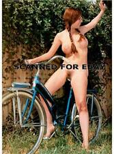 Model art photograph print female girl nude woman photo picture NORMA-bike