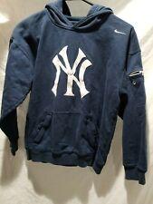Nike New York Yankees Hoodie Sweatshirt Youth Boys Medium iPod MLB Baseball