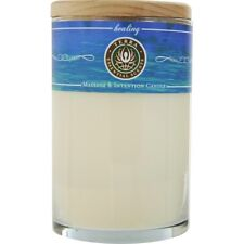 Healing Massage & Intention Soy Candle 12 oz Tumbler. A Blend Of Roman Chamomile