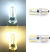 2 x 100-120V 3W E17 80 LEDs Chip 3014 SMD LED Corn Bulb Light Lamp Energy Saving