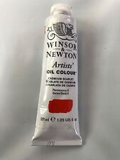 Winsor & Newton Artists' Oil Colour Series 4 37ml 1.25 fl CADMIUM SCARLET NEW