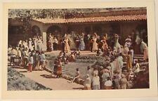 Vintage Ramona Bowl Outdoor Play Fiesta Hemet California Postcard