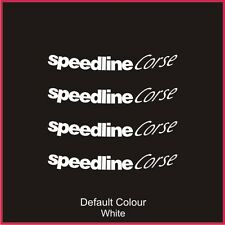 "Speedline Turini Outer Rim Decals for 15/16"" rims, Alloys, Wheels, N2071"
