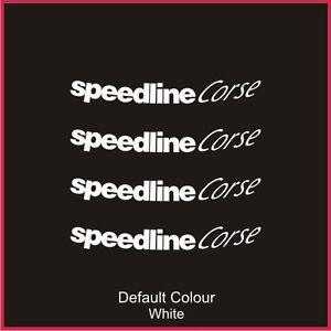 "Speedline Turini Outer Rim Decals for 15/16"" rims, Alloys, Wheels, N2071"