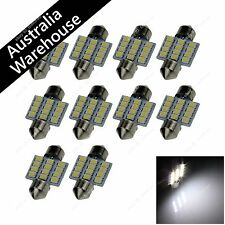 10x White 31MM 12 1210 LED Festoon Light Dome Lamp Map Interior Bulb 3022 6428