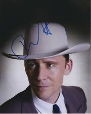 Tom Hiddleston Signed Autographed 8x10 I Saw The Light Hank Williams Photograph