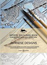 Pepin Colouring Book,Japanese Designs,Malbuch Erwachsene,hochwertige Ausführung