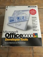 Microsoft Office 2000 Developer Tools, retail, alemán con factura IVA