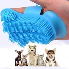 Pet Dog Cat Bath Brush Comb Rubber Glove Fur Grooming Shedding Trimming Brush