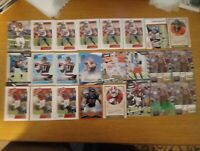 Chicago Bears (132) Card Lot! RC/Inserts/#