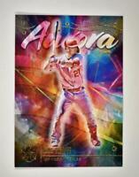 2021 Diamond Kings Aurora #AU-13 Mike Trout - Los Angeles Angels SSP