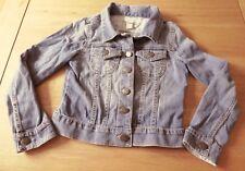 Monsoon Light Blue Cotton Denim Jean Jacket Age 7 - 8