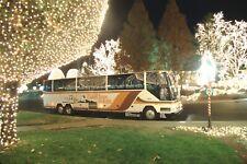 Burke International Tours Mci bus original slide