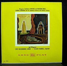 LEOPOLD STOKOWSKI & EILEEN FARRELL wagner tannhauser LP VG LM-1066 Mono Vinyl