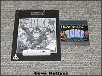 Toki w/Manual - Atari Lynx - FREE SHIPPING!