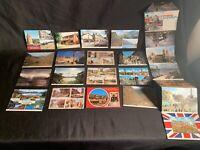 Lot of 22 Vintage  Postcards England Scottish Silverdale Cumbria Lochs Avon