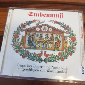 WASTL FANDERL: Stubenmusi - Bairisches Bilder Und Notenbuch    > VG+ (CD)