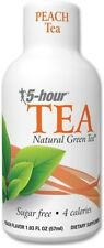 New 5 Hr Energy TEA , Peach , 24 Box , 1.93oz Shots 5 Hour Energy Wholesale