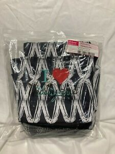 New - Thirty One Creative Caddy Black Links Embroidered I Heart Thirty One