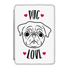 "Pug Love Case Cover for Kindle 6"" E-reader - Funny Dog Puppy"