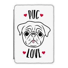 """Pug Love Case Cover Per Kindle 6"""" e-reader-Divertente DOG PUPPY"""