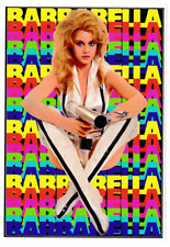 Barbarella Vinilo Sticker Jane Fonda Vintage Sci Fi culto 60s Bombshell alienígenas