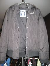 Russell Athletic Black Womens puffy jacket - Size 12, excellent condition!!