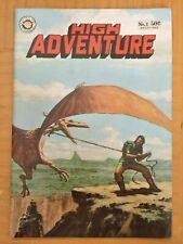 HIGH ADVENTURE No.1 1973 Altern UNDERGROUND Comic Book Evanier POUND Kline Crumb