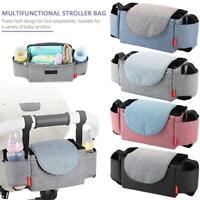 Baby Pushchair Pram Storage Bag Stroller Buggy Cup Bottle Holder Organiser New