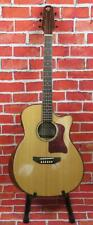 CARAYA ACOUSTIC ELECTRIC GUITAR WITH BUILT IN LOOPER + MP3 RECORDER