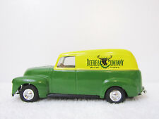 Ertl John Deere Company Green & Yellow 1950 Chevy Delivery Truck Bank Scale 1:24
