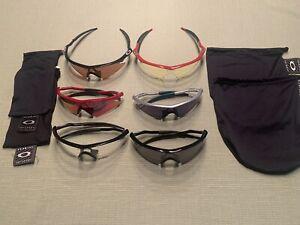6 Oakley M-Frame mit unterschiedlichen Gläsern