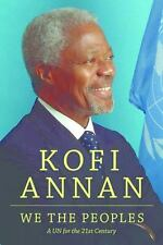 We the Peoples: A UN for the Twenty-First Century, printed, printed, Annan, Kofi