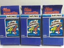 Mupi LE VILLAGE DANS LE NUAGES Set di 3 Cassette Super 8 per CINEVISOR MIB, 1983