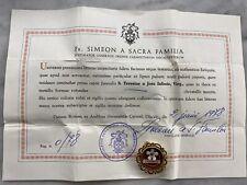 Reliquario Relique Santa Teresa Therese Documento