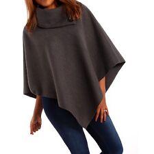 Poncho Damenjacken & -mäntel aus Polyester ohne Verschluss