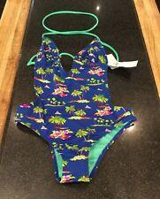 Holister Palme Muster Schwimmen Kostüm/Größe XS/UVP £ 42 NEU mit Etikett