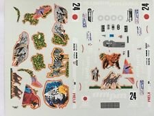 1/43 Decal, Riley&Scott Jungle, Terada/Donovan/Freon, 24h Le Mans 1999