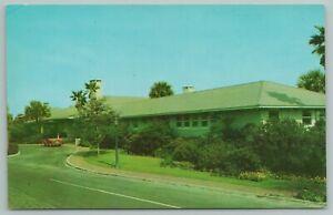 Sea Island Georgia~Motor Entrance To Beach Club~Vintage Postcard