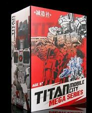New Master Made Transformers SDT-01 TITAN Mobile City Mega Series Metroplex MIS